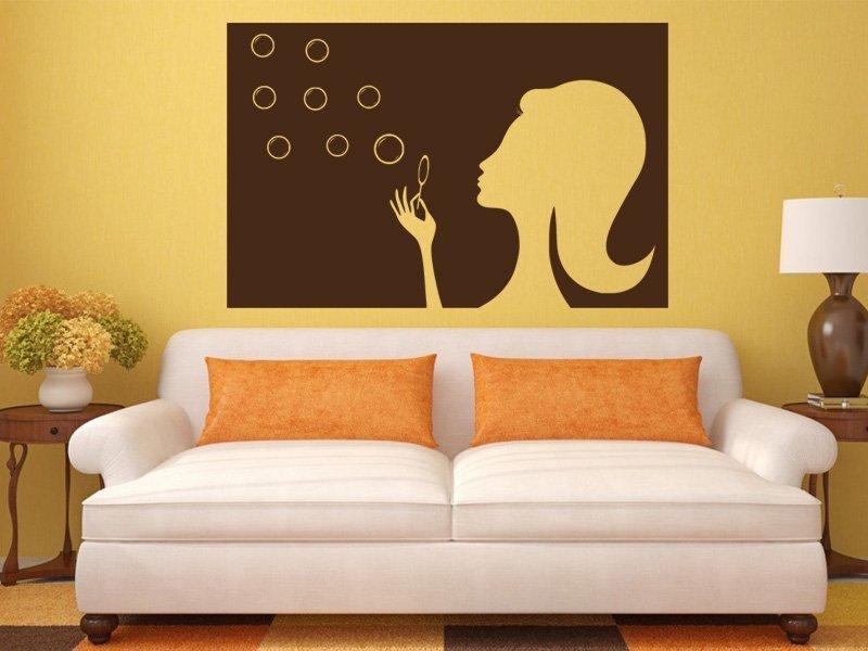 Samolepky na zeď Žena 023 - Samolepící dekorace a nálepka na stěnu