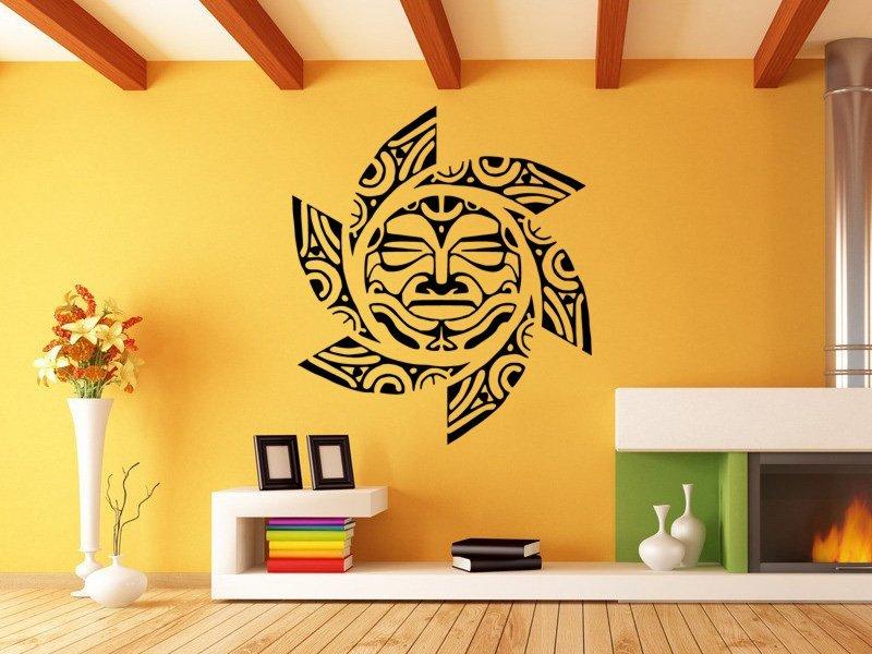 Samolepky na zeď Slunce 0192 - Samolepící dekorace a nálepka na stěnu