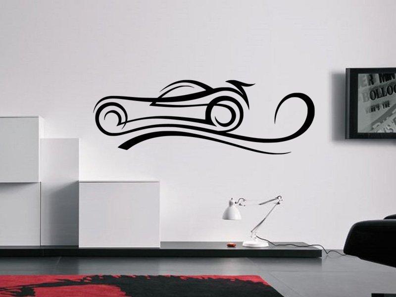 Samolepky na zeď Auto 032 - Samolepící dekorace a nálepka na stěnu