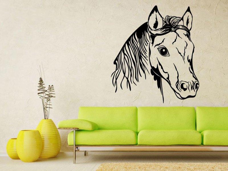 Samolepky na zeď Kůň 0325 - Samolepící dekorace a nálepka na stěnu