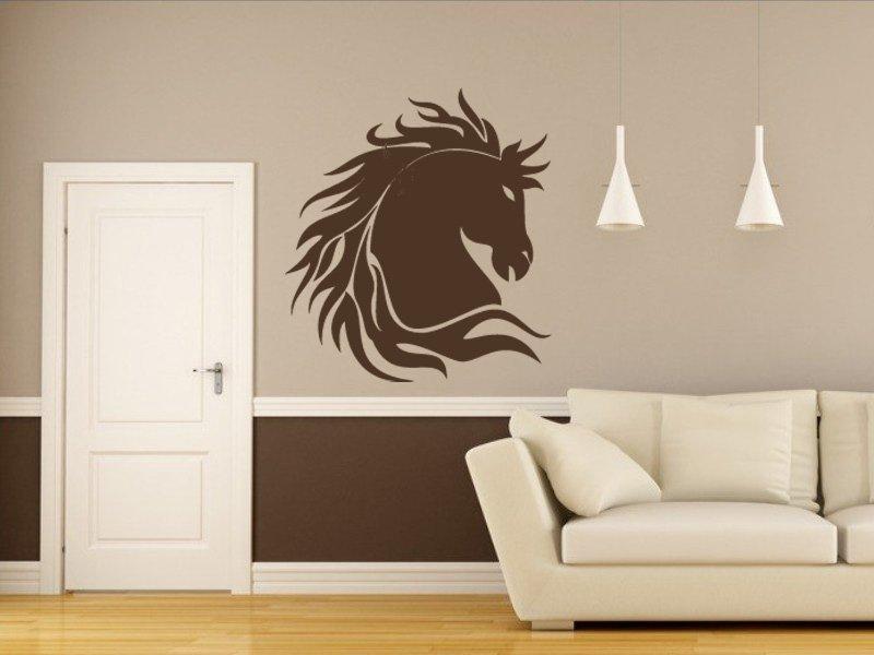 Samolepky na zeď Kůň 003 - Samolepící dekorace a nálepka na stěnu