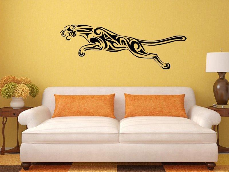 Samolepky na zeď Jaguár 003 - Samolepící dekorace a nálepka na stěnu