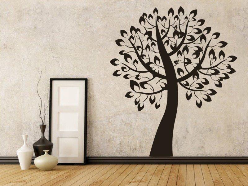 Samolepky na zeď Strom 0220 - Samolepící dekorace a nálepka na stěnu