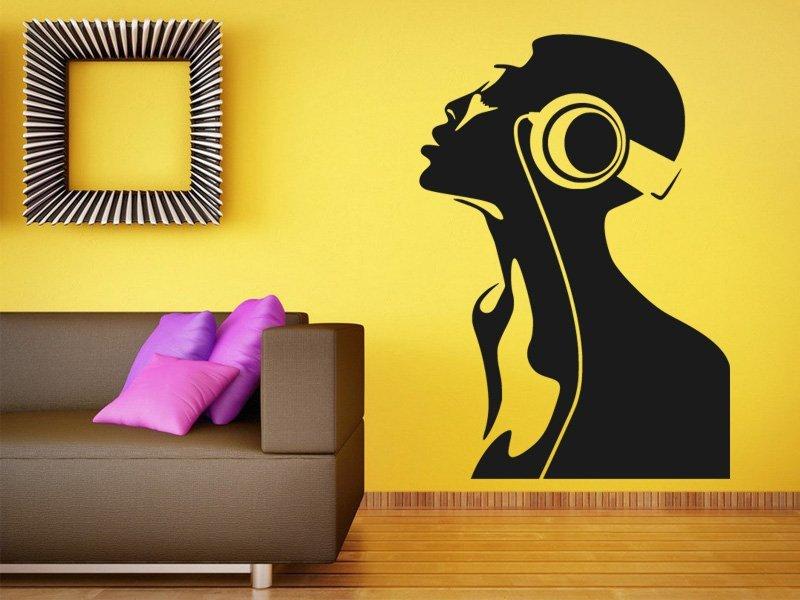 Samolepky na zeď DJ 003 - Samolepící dekorace a nálepka na stěnu