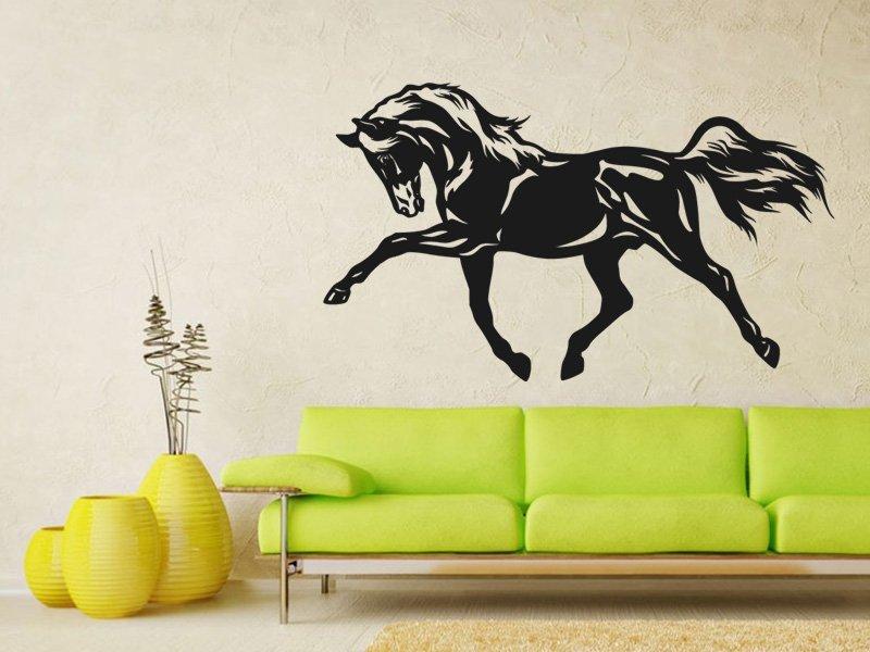 Samolepky na zeď Kůň 0402 - Samolepící dekorace a nálepka na stěnu