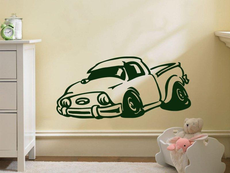 Samolepky na zeď Auto 020 - Samolepící dekorace a nálepka na stěnu