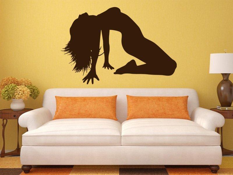 Samolepky na zeď Sexy žena 001 - Samolepící dekorace a nálepka na stěnu