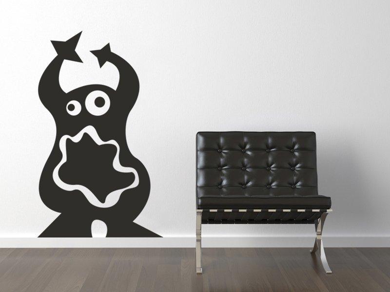 Samolepky na zeď Potvůrky 007 - Samolepící dekorace a nálepka na stěnu