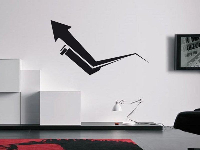 Samolepky na zeď Šipka 003 - Samolepící dekorace a nálepka na stěnu