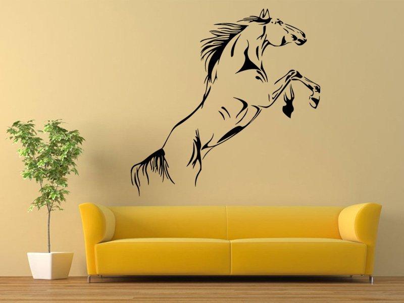 Samolepky na zeď Kůň 0380 - Samolepící dekorace a nálepka na stěnu