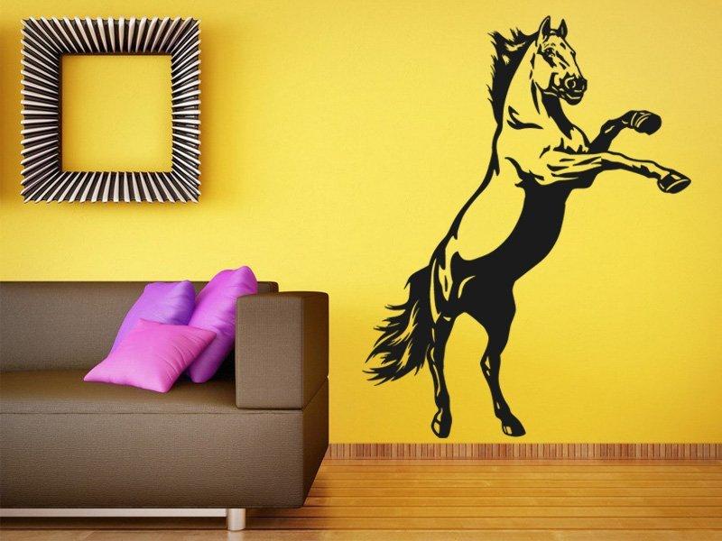Samolepky na zeď Kůň 0384 - Samolepící dekorace a nálepka na stěnu