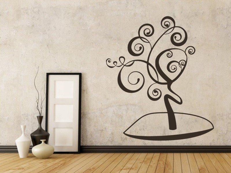 Samolepky na zeď Strom 063 - Samolepící dekorace a nálepka na stěnu