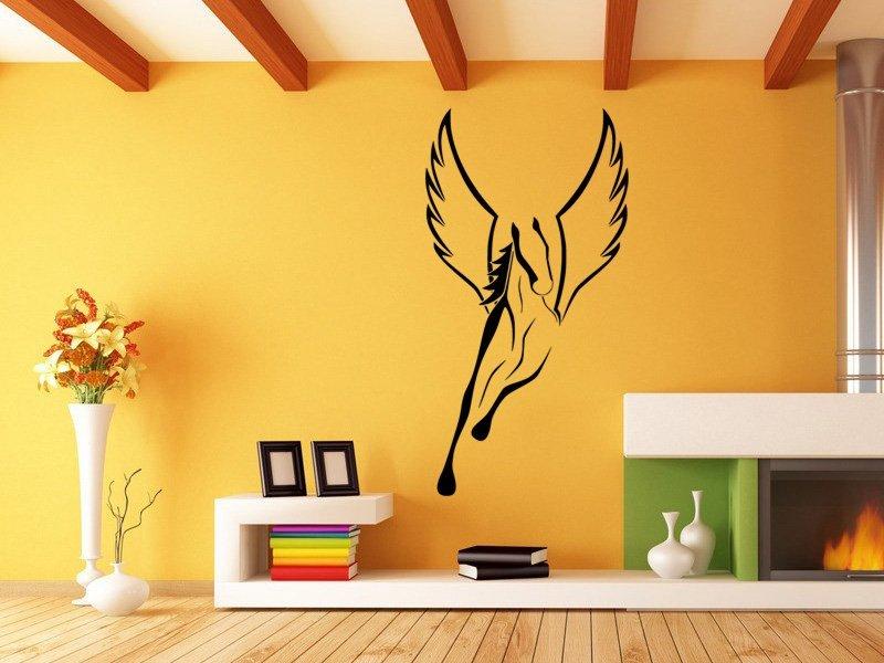 Samolepky na zeď Kůň 0346 - Samolepící dekorace a nálepka na stěnu