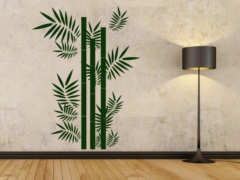 Samolepky na zeď Bambus 001 - Samolepící dekorace a nálepka na stěnu