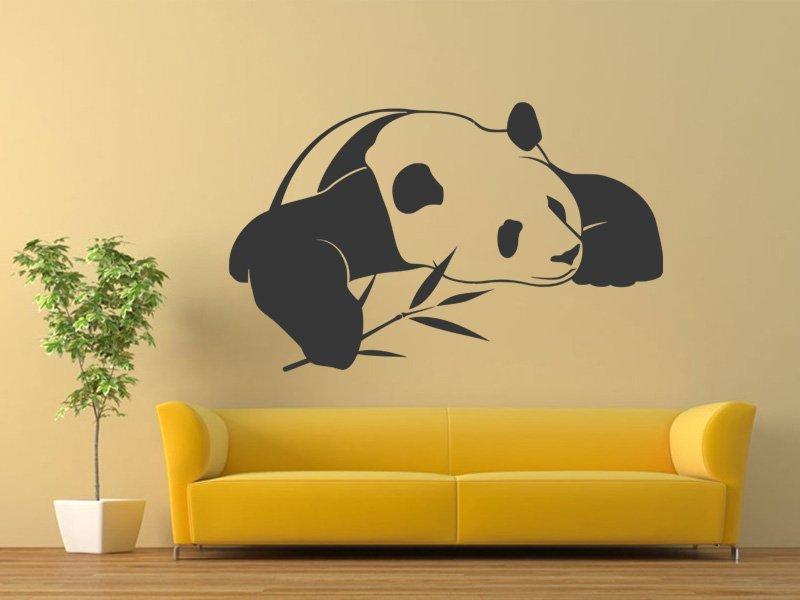 Samolepky na zeď Panda 003 - Samolepící dekorace a nálepka na stěnu