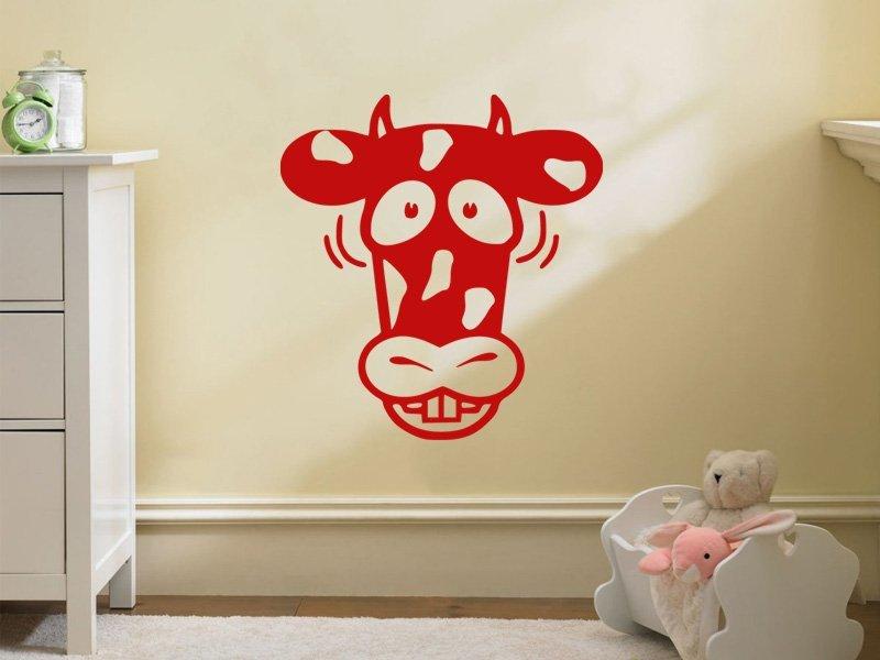 Samolepky na zeď Kráva 002 - Samolepící dekorace a nálepka na stěnu