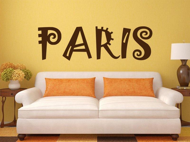 Samolepky na zeď Paříž 010 - Samolepící dekorace a nálepka na stěnu