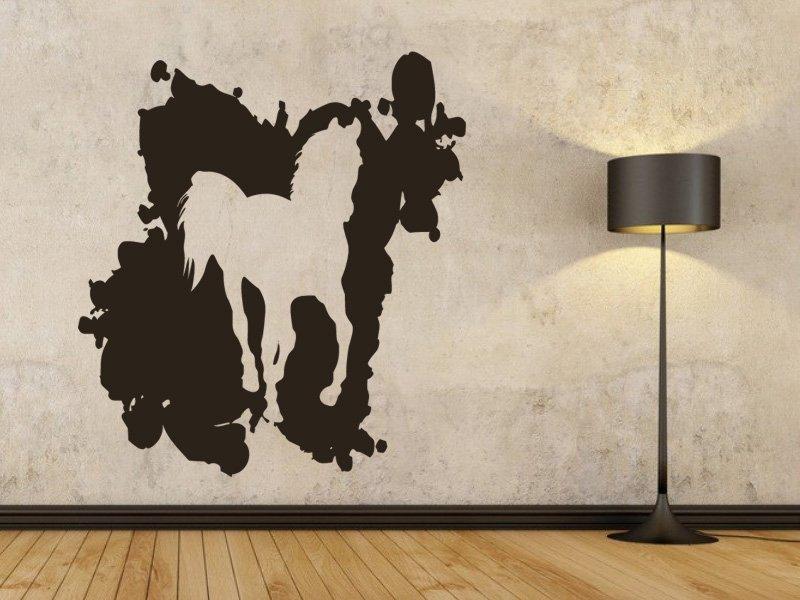 Samolepky na zeď Kůň 029 - Samolepící dekorace a nálepka na stěnu
