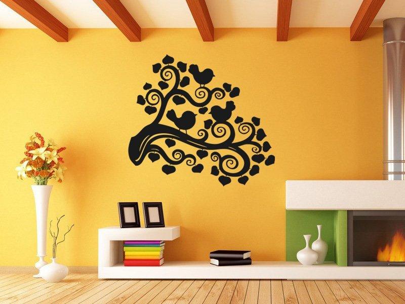 Samolepky na zeď Strom 013 - Samolepící dekorace a nálepka na stěnu