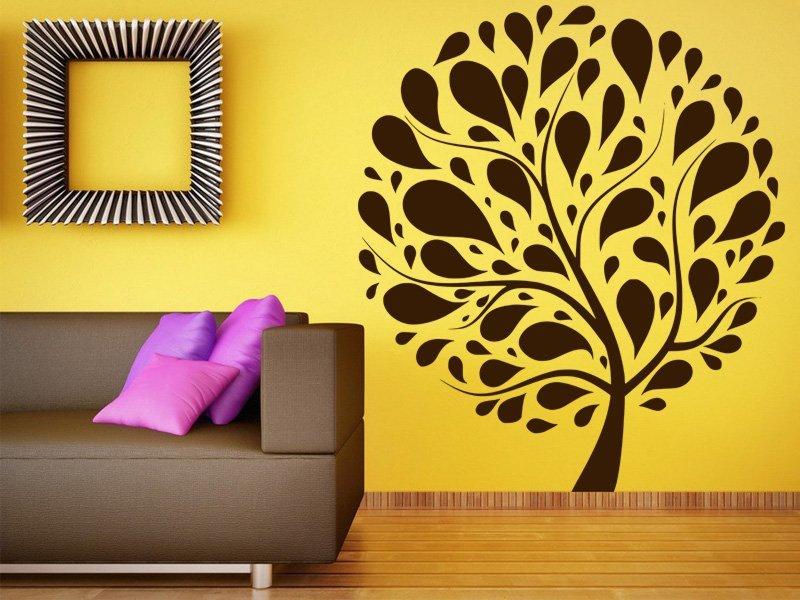 Samolepky na zeď Strom 004 - Samolepící dekorace a nálepka na stěnu