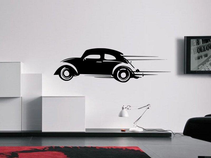 Samolepky na zeď Auto 024 - Samolepící dekorace a nálepka na stěnu