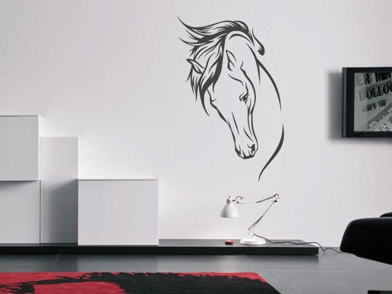 Samolepky na zeď Kůň 022 - Samolepící dekorace a nálepka na stěnu