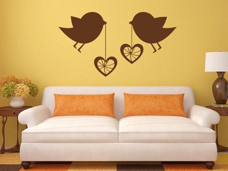 Samolepky na zeď Láska 001 - Samolepící dekorace a nálepka na stěnu