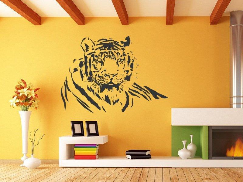 Samolepky na zeď Tygr 005 - Samolepící dekorace a nálepka na stěnu