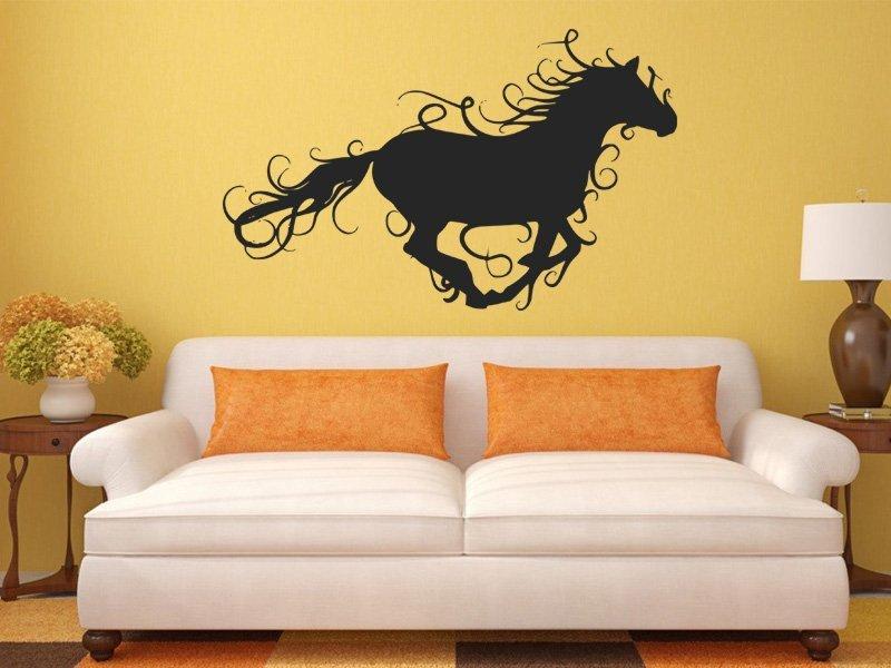 Samolepky na zeď Kůň 014 - Samolepící dekorace a nálepka na stěnu