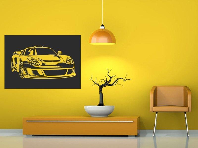 Samolepky na zeď Auto 045 - Samolepící dekorace a nálepka na stěnu