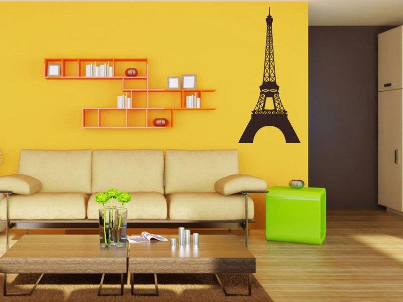 Samolepky na zeď Eifelova věž 001 - Samolepící dekorace a nálepka na stěnu