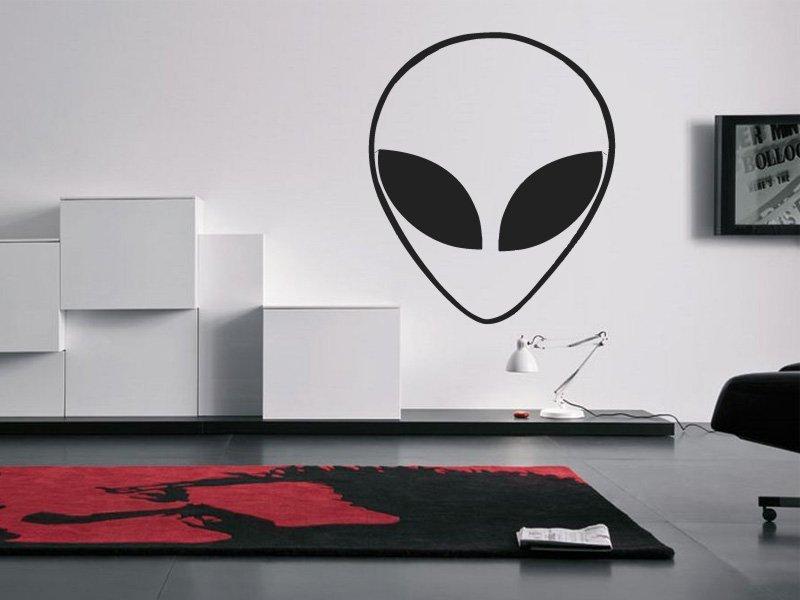 Samolepky na zeď Mimozemšťan 001 - Samolepící dekorace a nálepka na stěnu