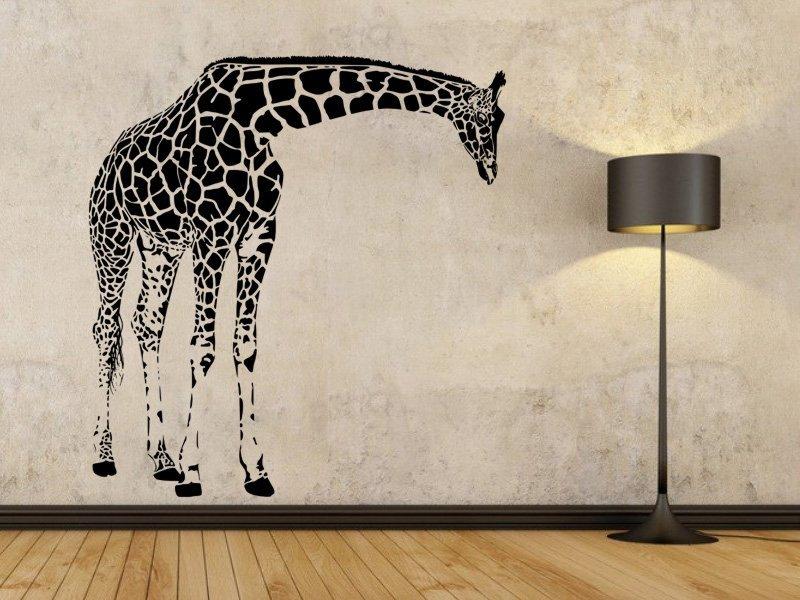 Samolepky na zeď Žirafa 004 - Samolepící dekorace a nálepka na stěnu