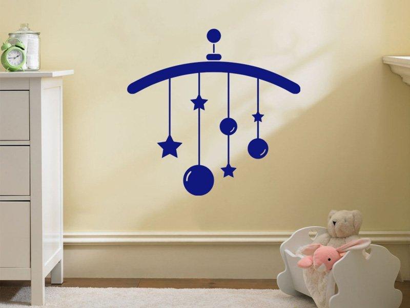 Samolepky na zeď Chrastítko 001 - Samolepící dekorace a nálepka na stěnu