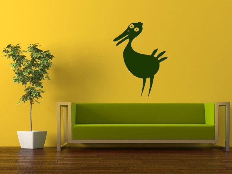 Samolepky na zeď Pták 018 - Samolepící dekorace a nálepka na stěnu