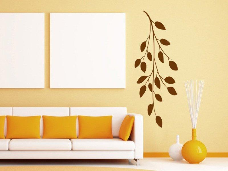 Samolepky na zeď Větvička 001 - Samolepící dekorace a nálepka na stěnu