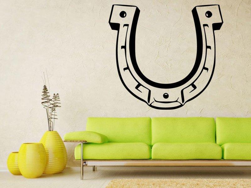 Samolepky na zeď Podkova 0425 - Samolepící dekorace a nálepka na stěnu