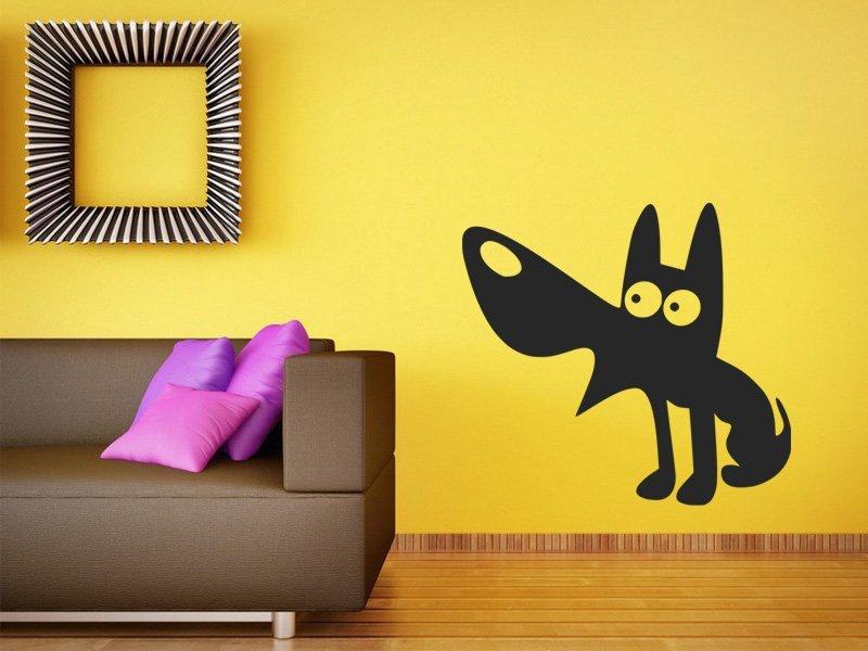 Samolepky na zeď Pejsek 001 - Samolepící dekorace a nálepka na stěnu