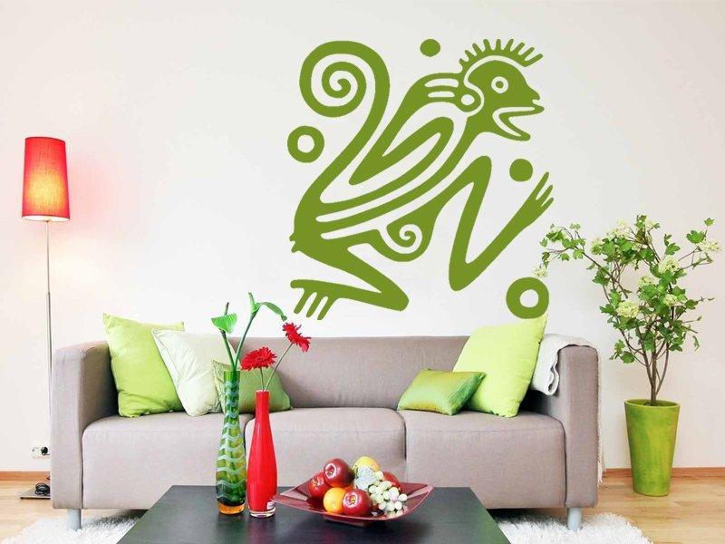 Samolepky na zeď Leguan 001 - Samolepící dekorace a nálepka na stěnu