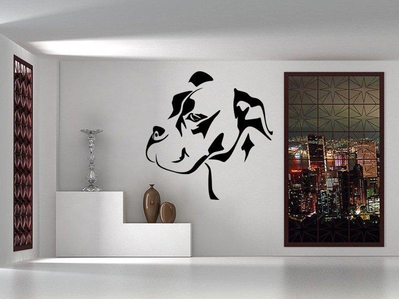 Samolepky na zeď Mastif 001 - Samolepící dekorace a nálepka na stěnu