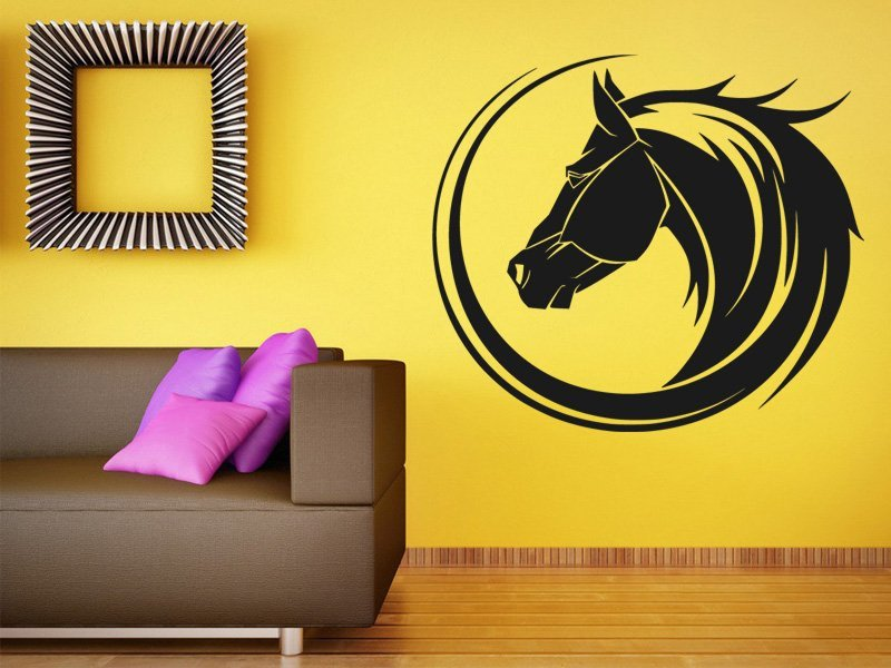 Samolepky na zeď Kůň 0318 - Samolepící dekorace a nálepka na stěnu