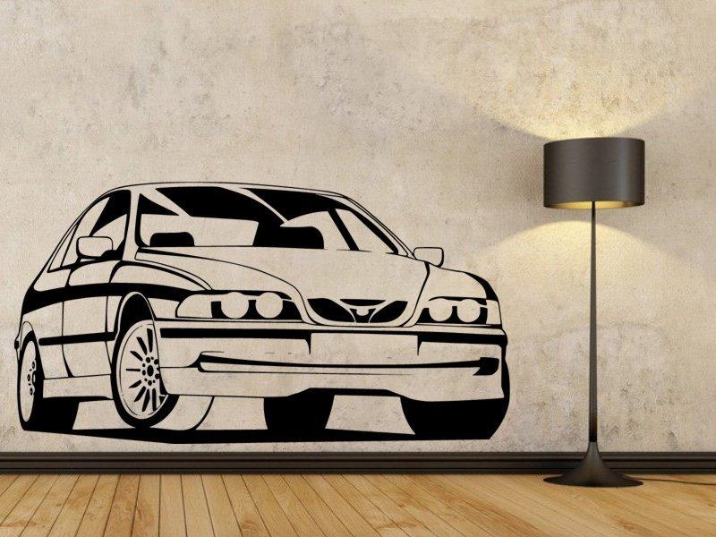 Samolepky na zeď Auto 023 - Samolepící dekorace a nálepka na stěnu