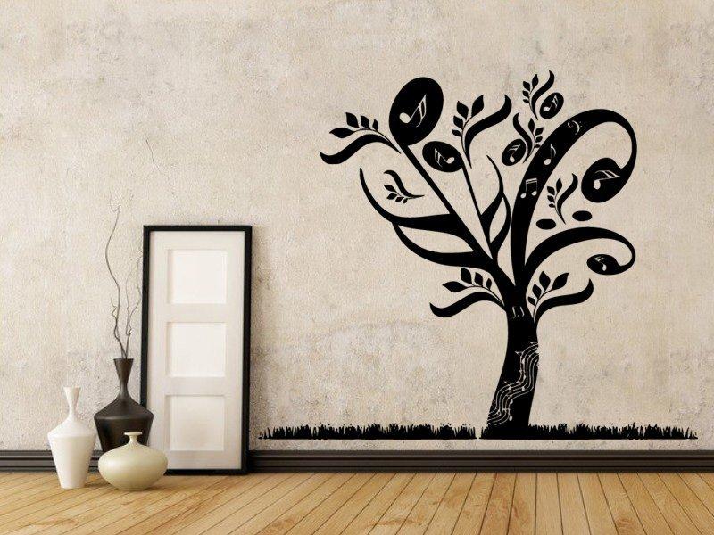 Samolepky na zeď Strom 049 - Samolepící dekorace a nálepka na stěnu