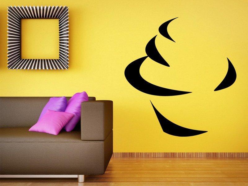 Samolepky na zeď Cupcake 0160 - Samolepící dekorace a nálepka na stěnu