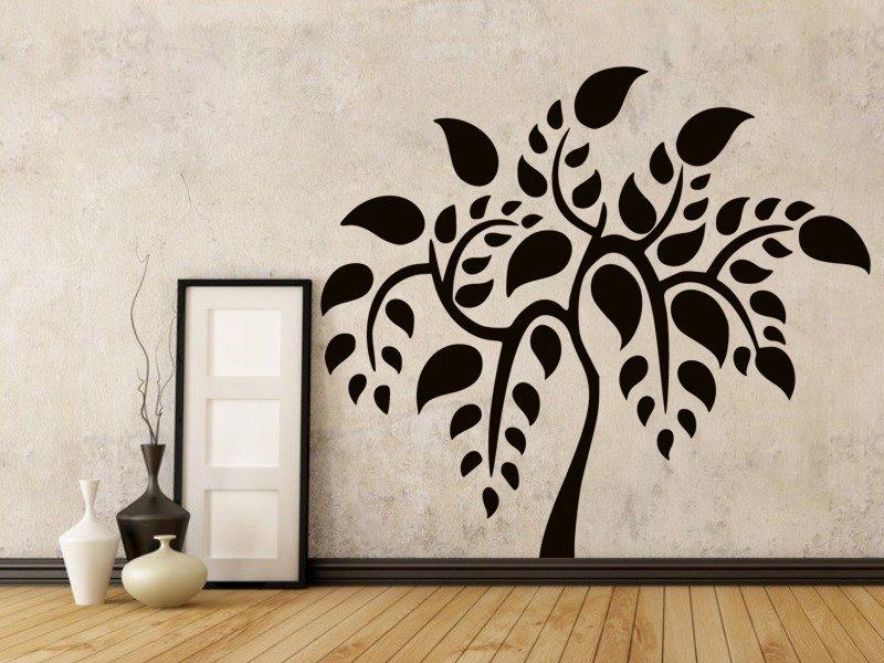 Samolepky na zeď Strom 036 - Samolepící dekorace a nálepka na stěnu