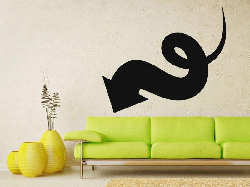 Samolepky na zeď Šipka 038 - Samolepící dekorace a nálepka na stěnu