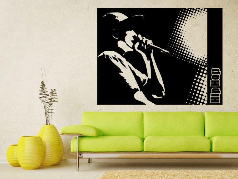 Samolepky na zeď Hip Hop 001 - Samolepící dekorace a nálepka na stěnu