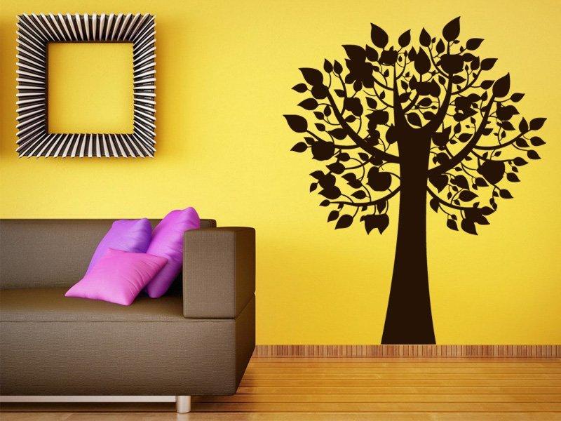 Samolepky na zeď Strom 0224 - Samolepící dekorace a nálepka na stěnu