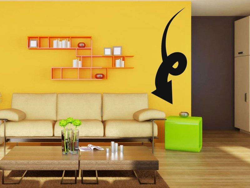 Samolepky na zeď Šipka 023 - Samolepící dekorace a nálepka na stěnu