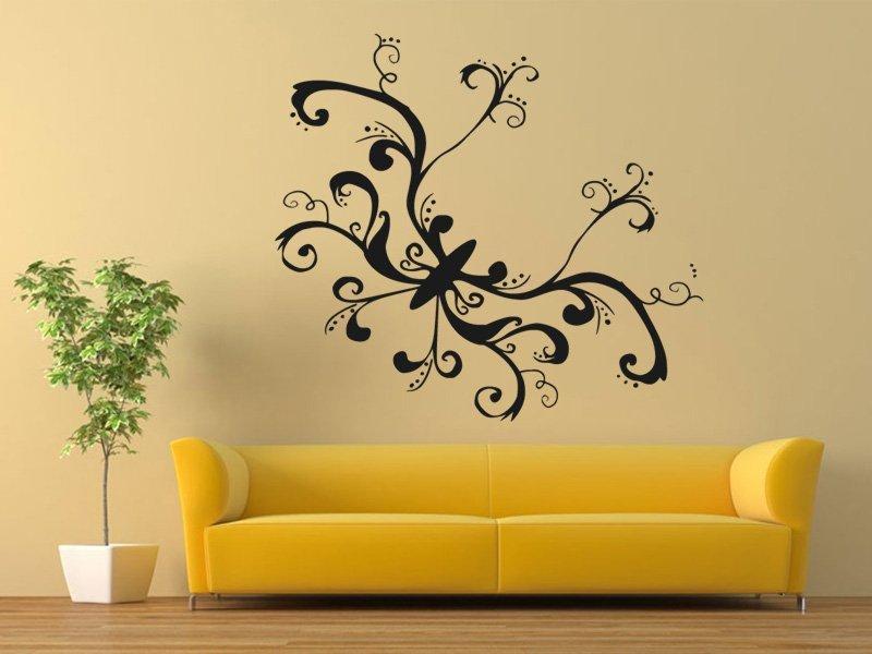 Samolepky na zeď Motýl 016 - Samolepící dekorace a nálepka na stěnu